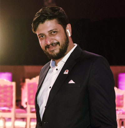 Edul Mahaduvala, Project Manager of Tamarind Global, Top Wedding Planners in India