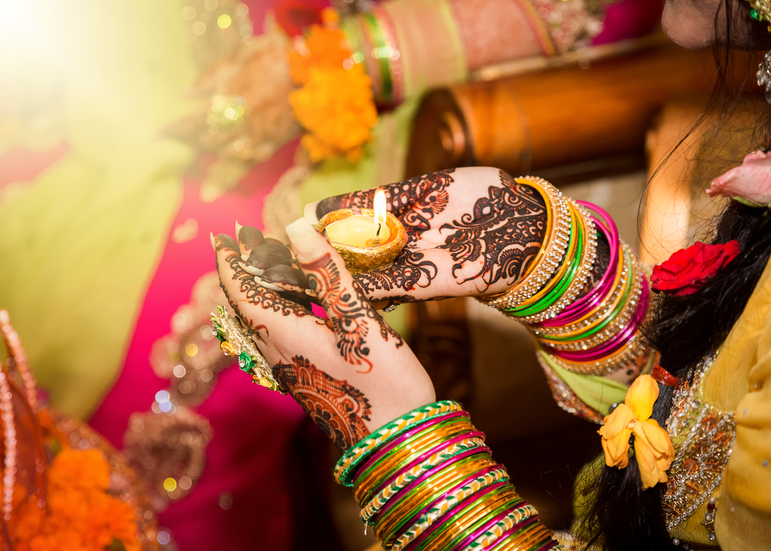 Have A Look at These Fun Ideas for Your Own Mehendi Function!